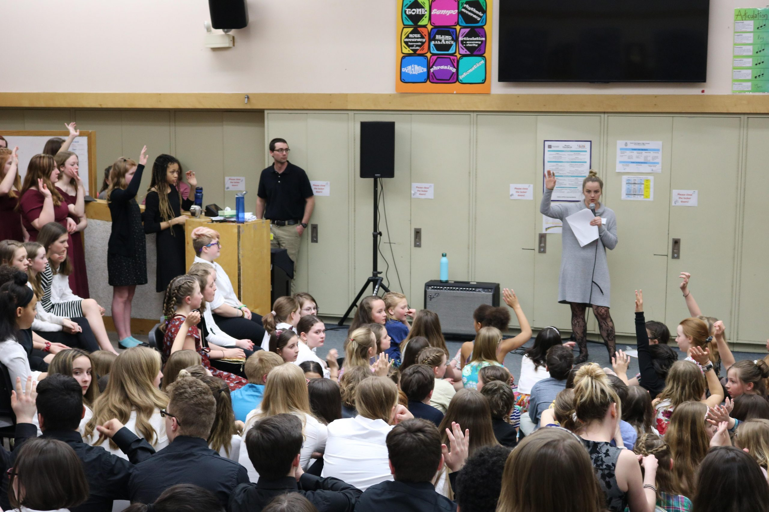Eight Vermont School Choirs Participate in Choral Concert and Town Meeting on Arts Education