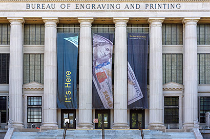 The U.S. Bureau of Engraving and Printing